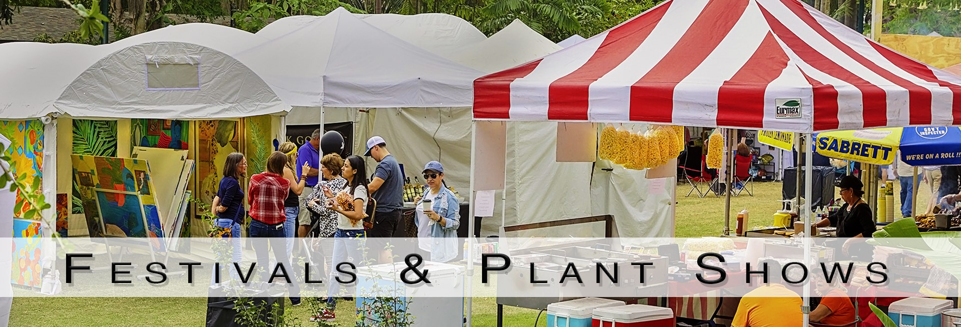 festivals plants shows